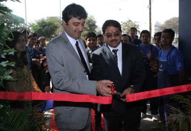 Mercedes inaugurates luxury car showroom in Indore