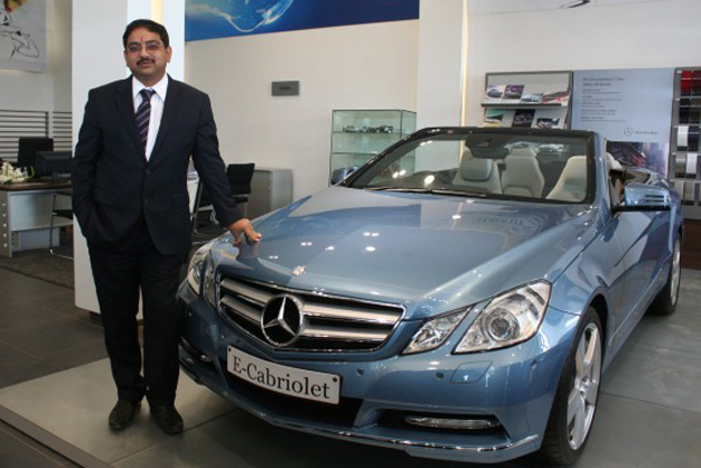Mercedes inaugurates luxury car showroom in Indore