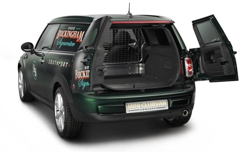 Mini Clubvan concept revealed ahead of Geneva