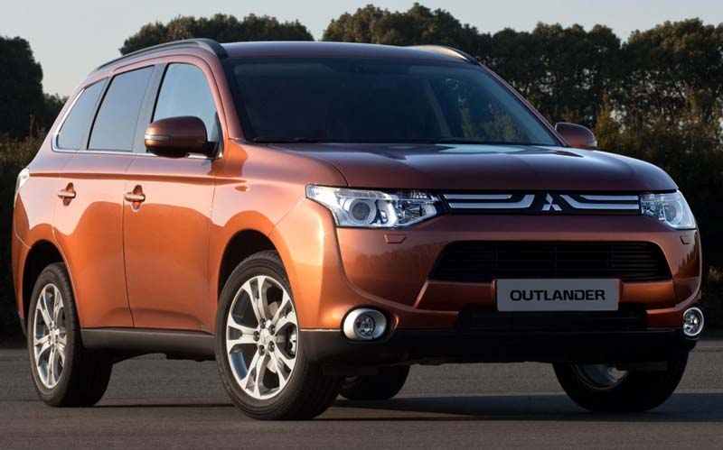 Mitsubishi Outlander 2013 image released