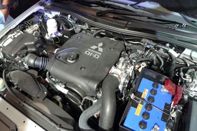 Mitsubishi Pajero Sport 2012 engine
