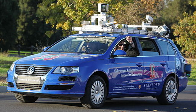 Nevada green signals driverless cars