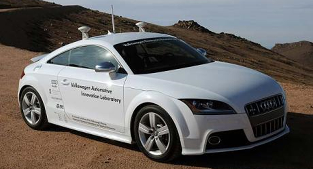 Nevada green signals driverless cars