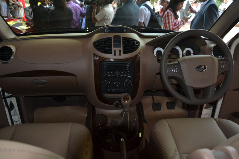 New Mahindra Xylo 2012 interior
