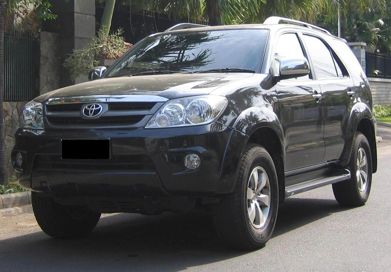 New Toyota Fortuner in India