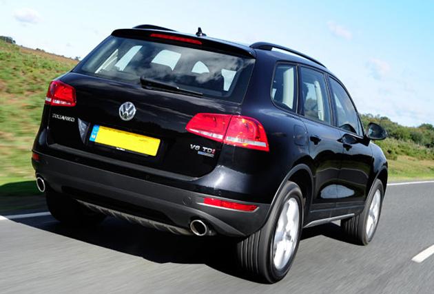 New Volkswagen Touareg 2012