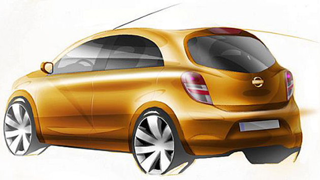 "Nissan likely to launch Sub-Micra ""K2"" in 2013"