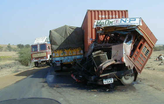 Indian roads are the deadliest!