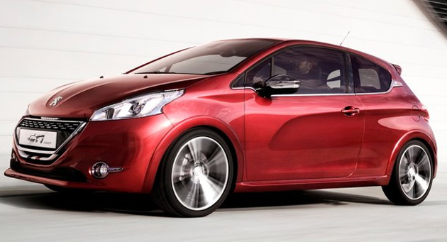 Peugeot 208 GTi hot hatch concept revealed