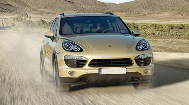"Porsche Cayenne wins ""Off-Road Award 2012"""