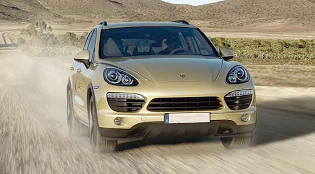 "Porsche Cayenne wins ""Off-Road Award 2012"""