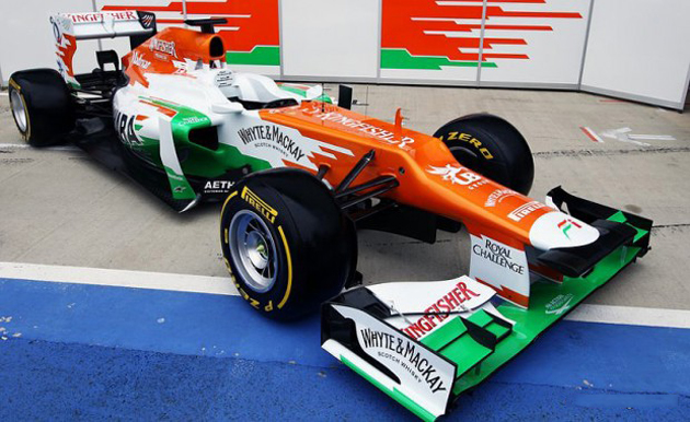 Sahara Force India Reveals the VJM05 at Silverstone