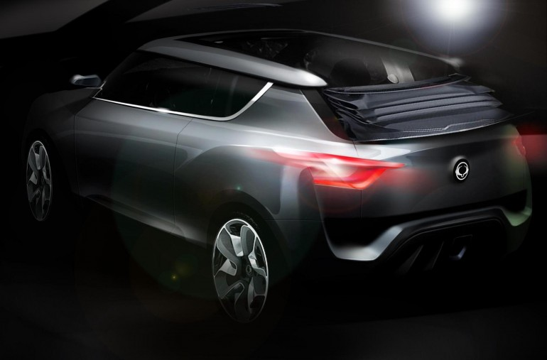 Ssangyong XIV-2 crossover concept