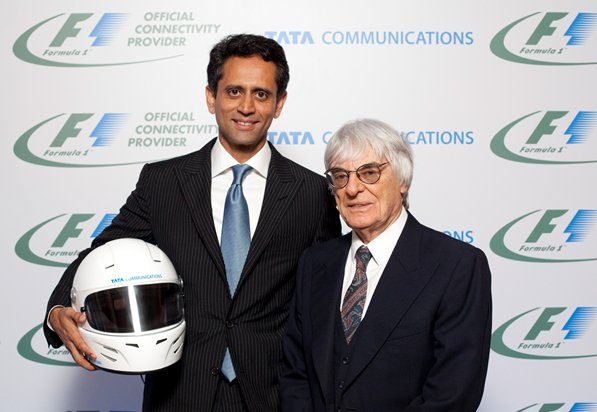 Tata Communications partners with Formula One