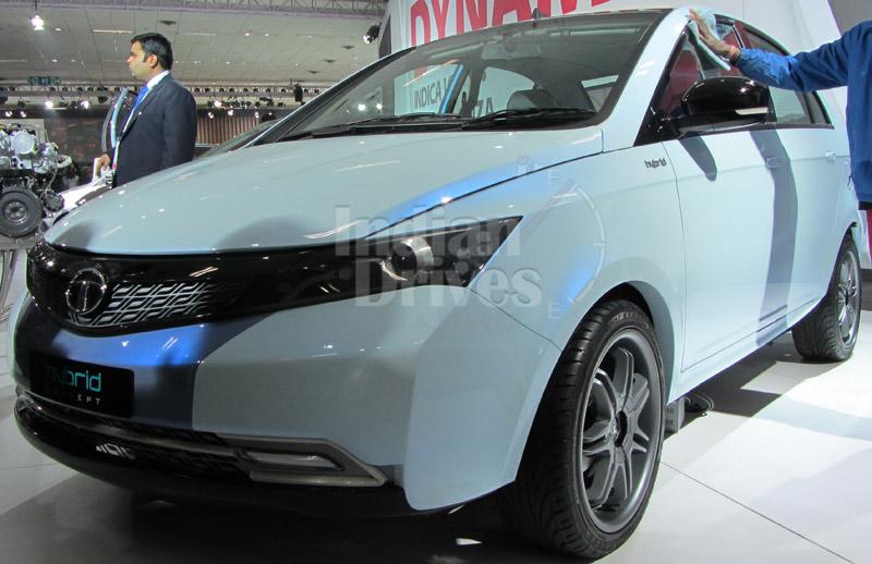 Tata Manza hybrid in India