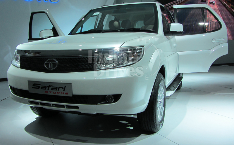 Tata Safari Storme in India