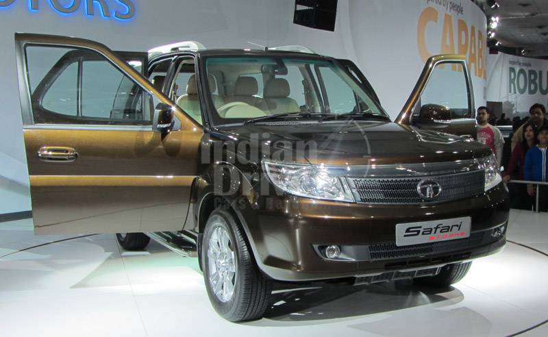 Tata Safari Storme in India