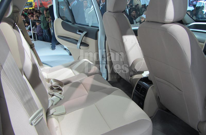 Tata Safari Storme interior