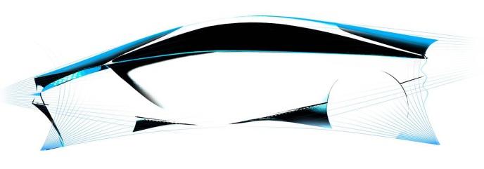 Toyota showcases Hybrid Concept car teaser