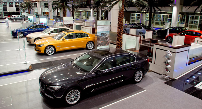 World's largest BMW showroom opens in Abu Dhabi