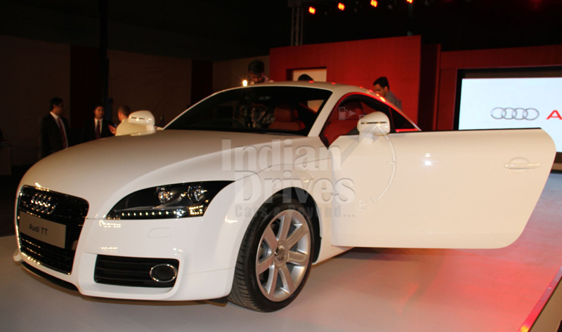 2012 Audi TT launched at Rs 48.36 lacs