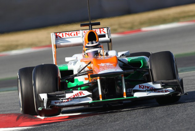 Disappointment for Sahara Force India on second day of test in Barcelona
