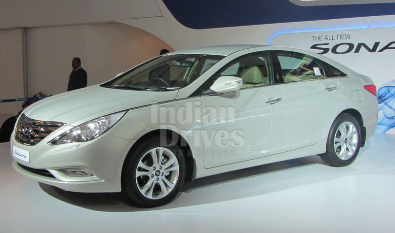 2012 Hyundai Sonata Fluidic expected 19th March