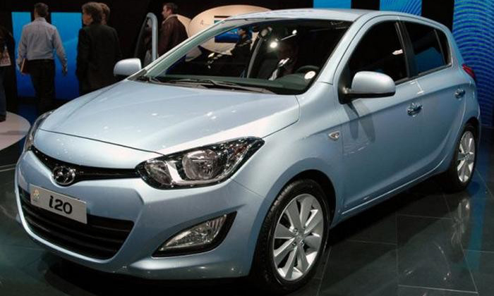 2012 Hyundai i20 Fluidic hitting the market soon