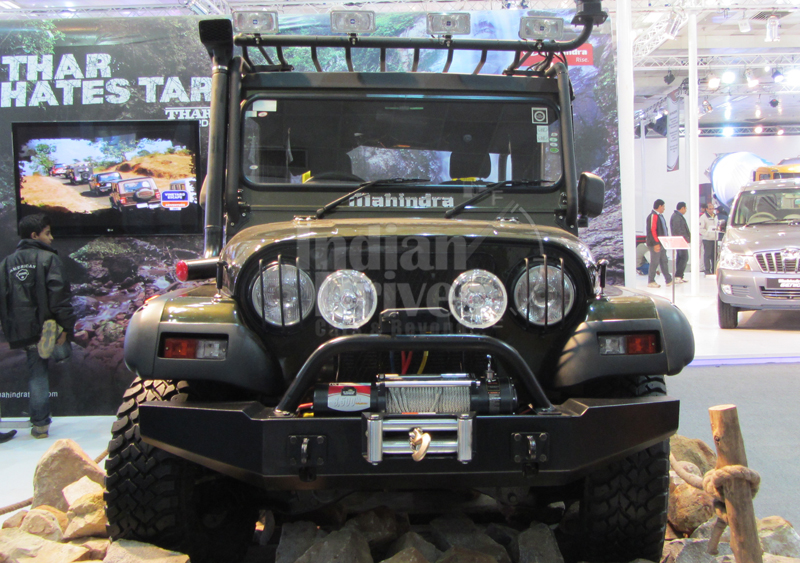 2012 Mahindra Thar will come with upgraded interiors and AC