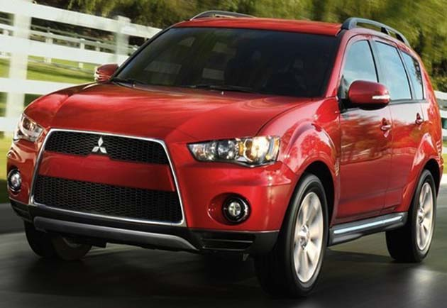 2012 Mitsubishi Outlander 7-seater comes with a starting price of Rs 19.95 lacs