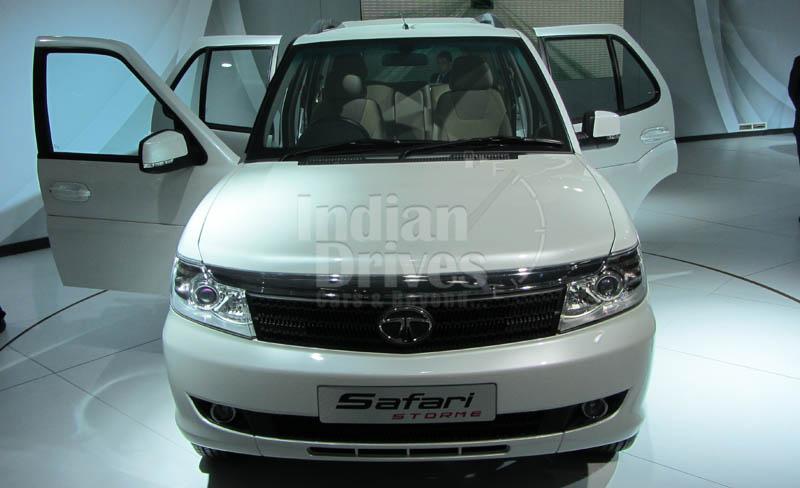 2012 Tata Safari Storme launch around the corner