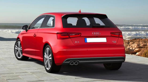 2013 Audi A3 unveiled at Geneva