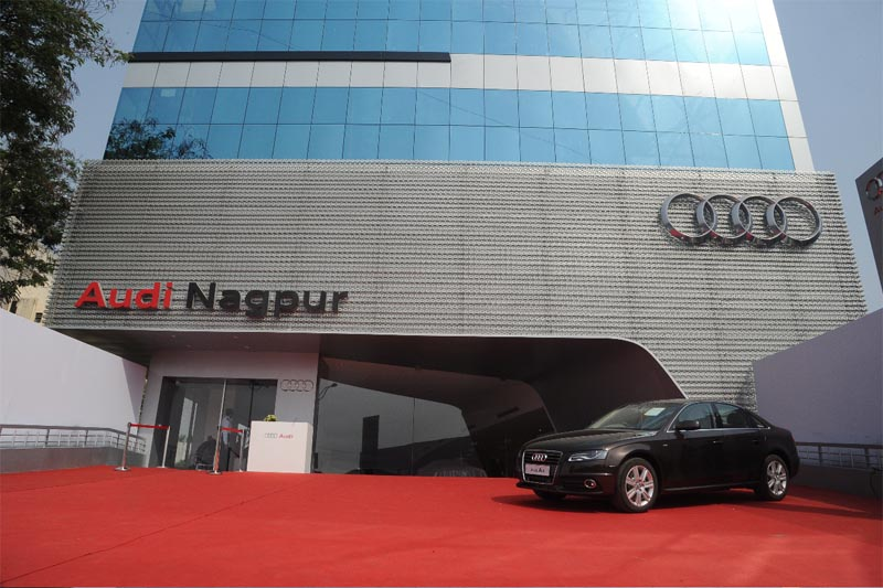 Audi India opens new showroom in Nagpur
