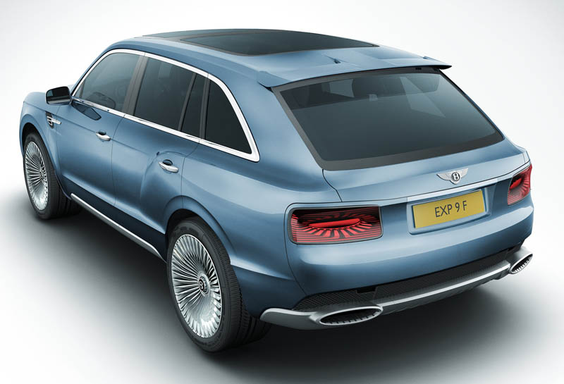 Bentley EXP 9 F Performance SUV Concept revealed