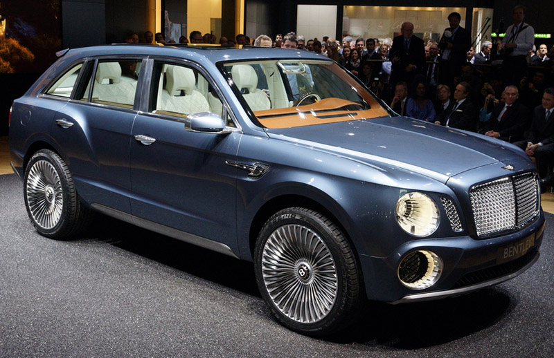 Bentley picked the SUV over the Sports car