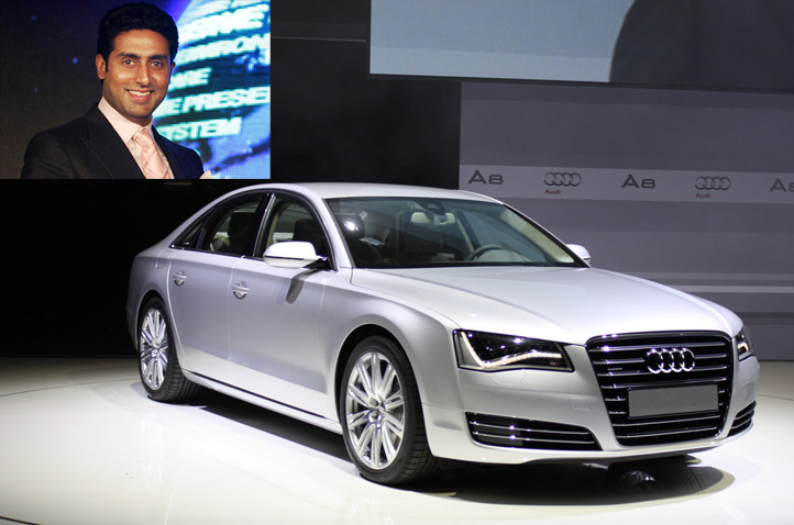 Beti B gets Audi A8 as gift from daddy Abhishek