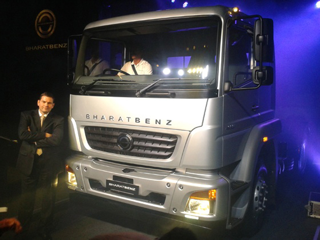 BharatBenz unveils its truck range for India