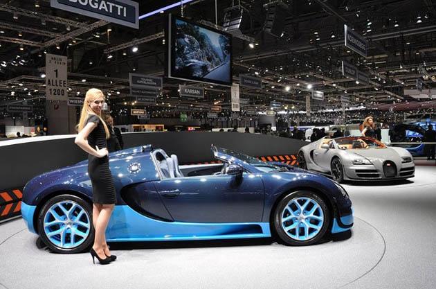 Bugatti Veyron Grand Sport Vitesse: Geneva 2012