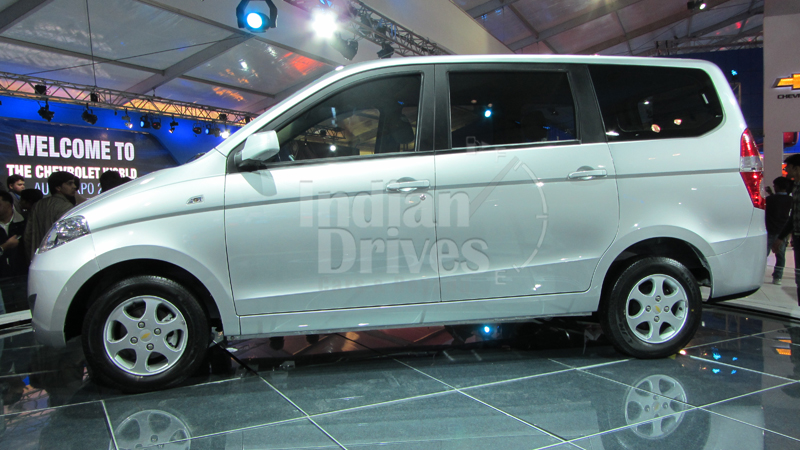 Chevrolet Enjoy MPV coming late 2012