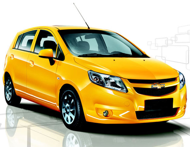 Chevrolet Sail Hatch will hit the markets this July