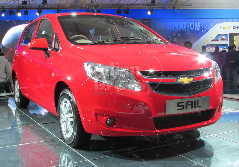 Chevrolet Sail coming to India in third quarter of 2012