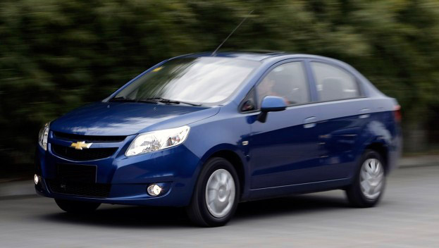 Chevrolet Sail to be launched by GM in 2012