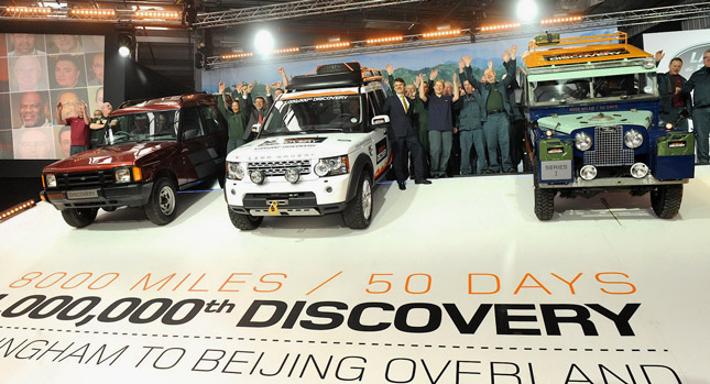 Epic Road Trip of the Millionth Land Rover Discovery