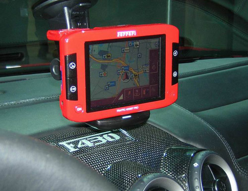 Ferrari GPS Navigation System