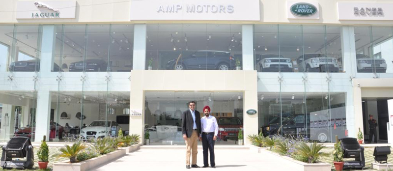 Fifteenth Flagship Showroom of Jaguar Land Rover in Gurgaon