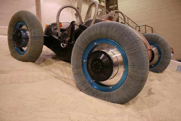 Goodyear develops 'Spring Tyres' for space missions