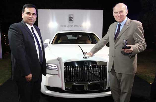 'Great Campaign' event supported by Rolls-Royce Motors Cars for British Business in New Delhi