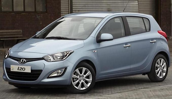 Hyundai i20 facelift: Revealed