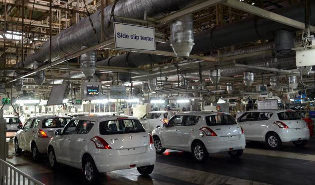 Maruti planning to set up Rs.1700 crore diesel plant in Gurgaon