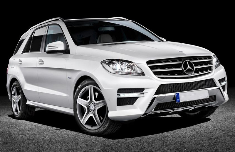 Mercedes Benz ML Class launch in April